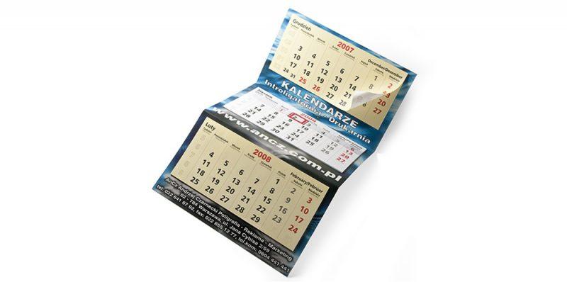 SD19 Calendario pieghevole