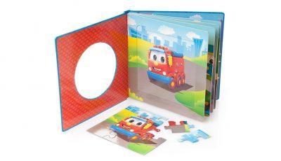 SD34 Libro per bambini con puzzle