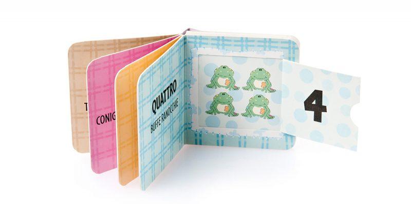 SD35 Libro per bambini con finestre