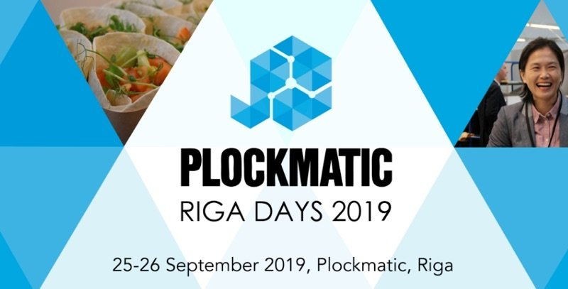 Plockmatic Riga Days 2019