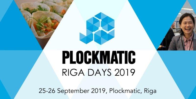 Plockmatic Riga Days 2019